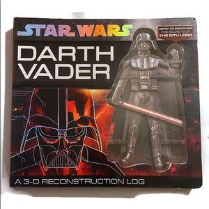 Star Wars Darth Vader 3-D Construction log.